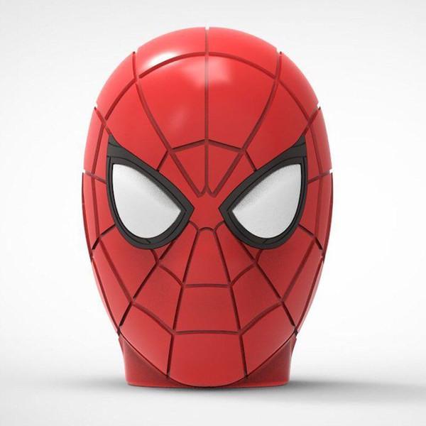 Spider-man Altoparlante Bluetooth wireless Hero Cartoon Altoparlante portatile stile SpiderMan con radio FM Scheda TF Lettore MP3 Mini subwoofer