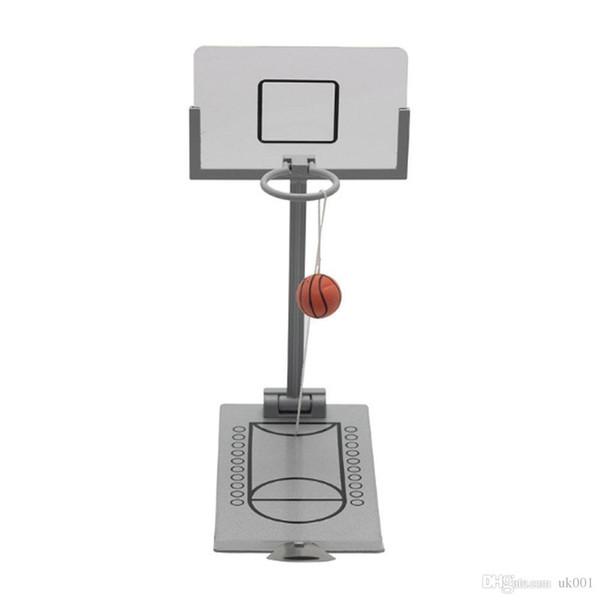 Mini Desktop Folding Reducing Basketball Machine Toy Office School Decompression