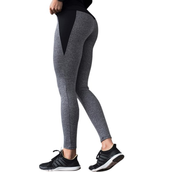 NORMOV Nuevas Mujeres Causal Leggings Cintura Alta Elástica Patchwork Jeggings Leggings Gimnasio Femme Hasta el Tobillo Push Up Legins