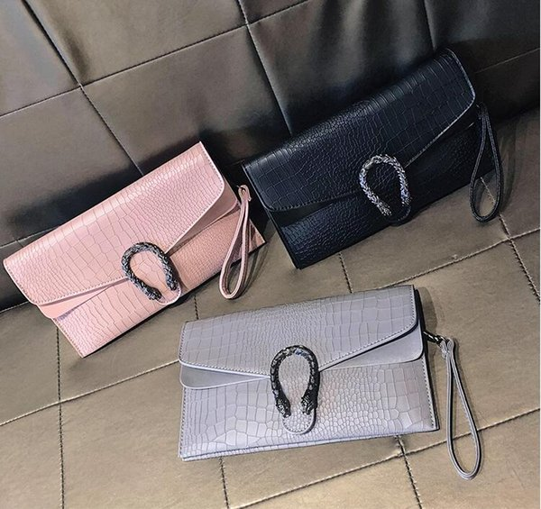 Newest White Black Leather large Clutch Envelope Bag Chain Women shoulder bag candy Messenger Soiree Purse Prom Evening Bag Free shipping