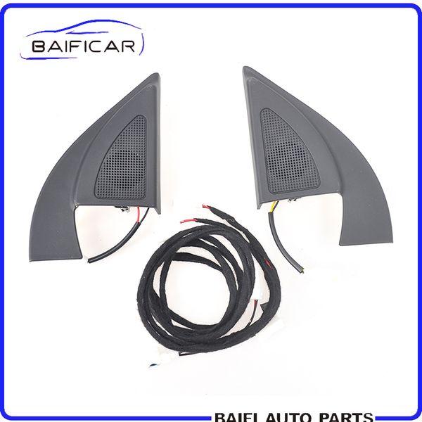 Baificar Brand New Genuine Triangle Head Tweeter Speakers Car Audio Trumpet Speakers Tweeter With Wire For Kia RIO K2 2011-2016