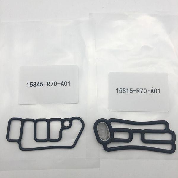 For Honda Head cylinder solenoid gasket 15815-R70-A01 15845-R70-A01 VTEC Gasket