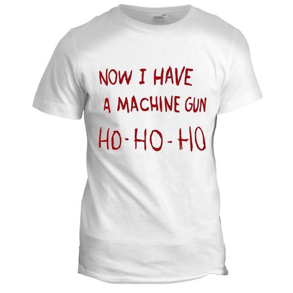 Die Hard Inspired Machine Gun Ho Movie Film Drama Tumblr Crime Christmas T ShirtFunny free shipping Unisex Casual Tshirt top