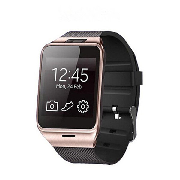 GV18 Smart Watches with Camera Bluetooth WristWatch SIM card Smartwatch for IOS Android Phone Support Hebrew