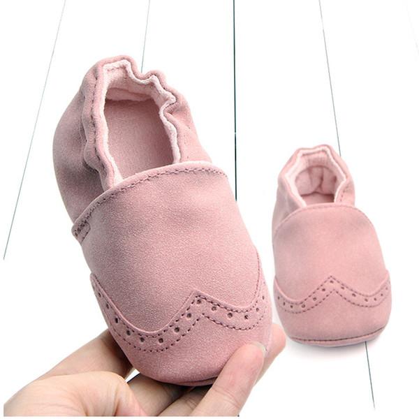 Rahat Yenidoğan Bebek Bebek Beşik Ayakkabı Kaliteli Yumuşak Bebek Deri Ayakkabı Ev Terlik Ilk Yürüyüşe Erkek Kız