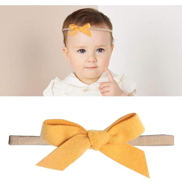 baby accessories hair ties girls Unicorn cotton ribbon baby turbans Headband Head Twisted softball band scrunchies Headbands hairbows