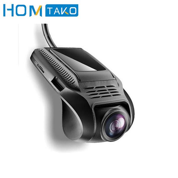 Araba DVR Wi-Fi 1080 P Full HD Çift Lens Dikiz DashCam Araç Kamera Video Kaydedici Registrar Monitör Hareket Dedektörü ile GPS