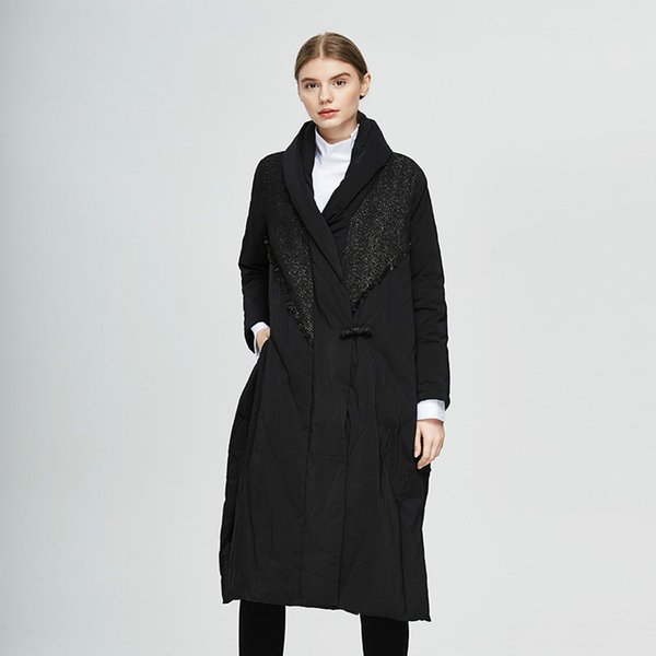 2019 new arrival merry cecilia x-long down coat winter plus size women down parka warm coat women jackets and coats winter