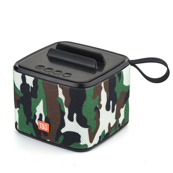 TG-801 Bluetooth speaker Portable subwoofer Square speakers wireless Mic phone holder hands-free calls speakerTF/USB/ FM radio