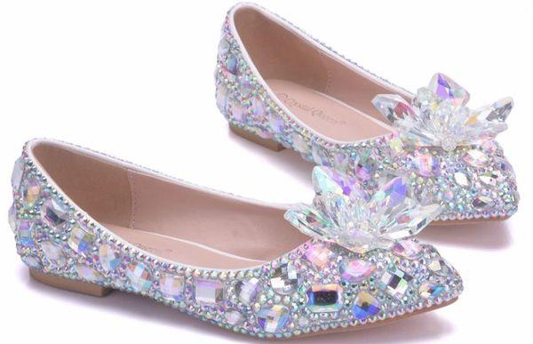 2019 Chaussures pour femmes au printemps et à l'automne avec foret à eau pointu à fond plat de style New @ 324