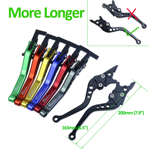 Universal CNC Motorbike Motorcycle Double Disc Hydraulic Line Brake Clutch Lever Bar Adjustable Scooter e-bike for Yamaha Honda Suzik GY6