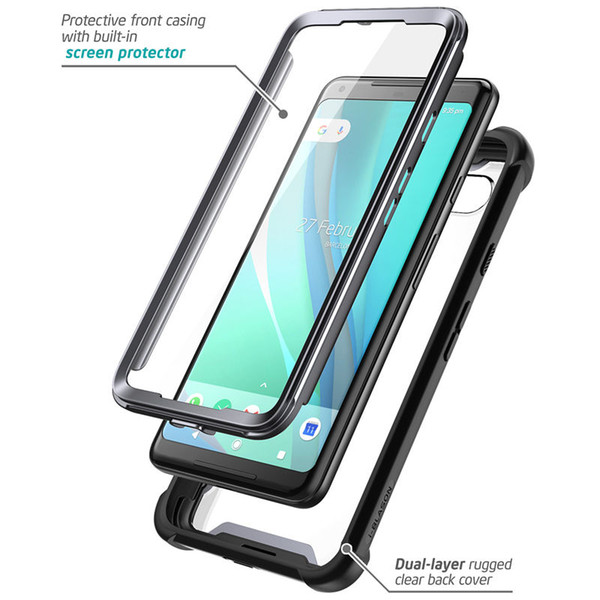 For For Google Pixel 2 XL Case Original I Blason Ares Series Full Body  Rugged Clear Bumper Case With Built In Screen Protector Camo Cell Phone  Cases