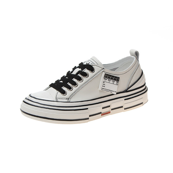 Newest Fashion Trend Designer Canvas Shoes for Women Plate Forme Platform Height Increasing Shoe Lace up Comfortable to Wear Girls Shoes