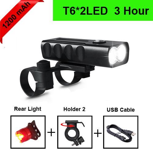T6 1200mAh taillight