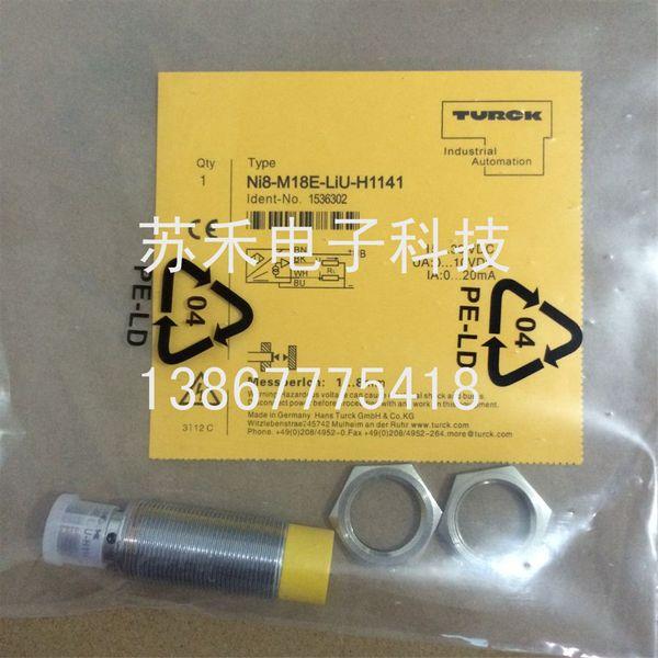 NI8-M18E-LIU-H1141 Analog Sensors Turck New High Quality