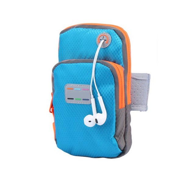Fishing Bags 5.7 Inch Universal Outdoor Sport Wrist Waterproof Nylon Running Fish Lures Mobile Phone Arm Gym Bag Phone Case #562807
