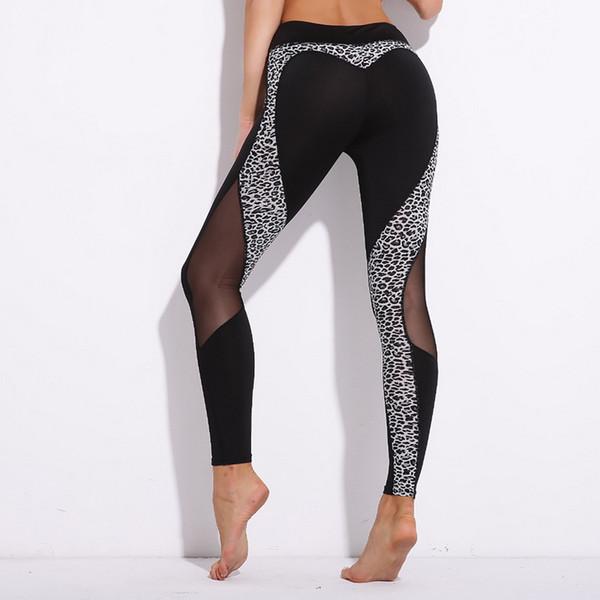 GYM Fashion Spot hot-selling new butt love leopard print Yoga Fitness pants sports underpants hot selling Yoga pants