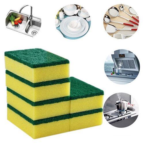 Melamine Magic Wipe Dish Sponge Kitchen Clean Scouring Cloth Dish Washing Sponge Kitchen Cleaning Tools free shipping