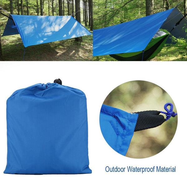Estera de camping, azul real