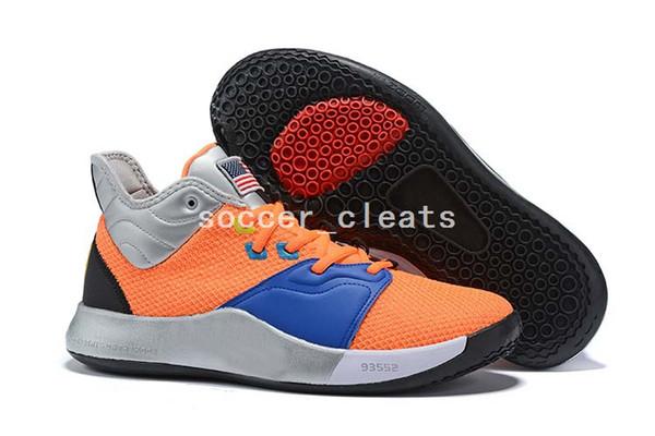 2019 Nuevo Paul George PG 3 X EP Palmdale PlayStation Zapatillas De Baloncesto Para Hombre Para EE. UU. Baratos Diseñador PG3 3s Zapatillas Deportivas