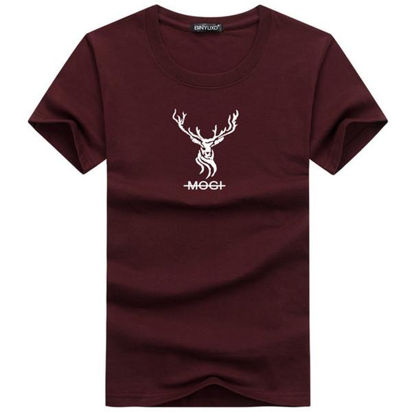 Marka Giyim 6 Renkler O-Boyun erkek T Shirt Erkek Moda Tişörtleri Spor Rahat Erkek T-shirt 5XL için Ücretsiz Kargo BY2