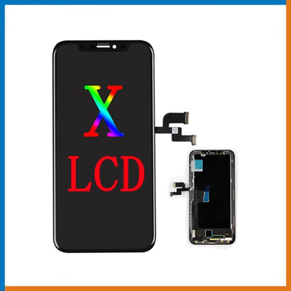 Für iPhone X OEM OLED Screen Grade A + + + LCD-Display Touch Digitizer Komplette Baugruppe Ersatz mit freiem DHL