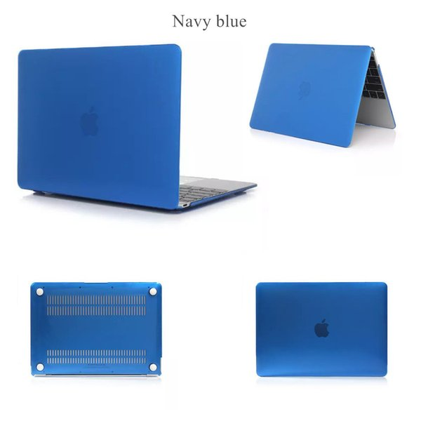 Crystal Clear Cases Surface Protective Laptop Case Cover For New Macbook 11 12 inch 13.3 15 Air Pro With Retina Touch Bar