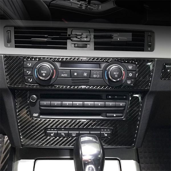 Truck Interior Accessories >> Carbon Fiber Strip Air Conditioning Cd Panel Decorative Cover Trim Auto Interior Accessories For Bmw E90 E92 E93 3 Series Custom Truck Interior Custom