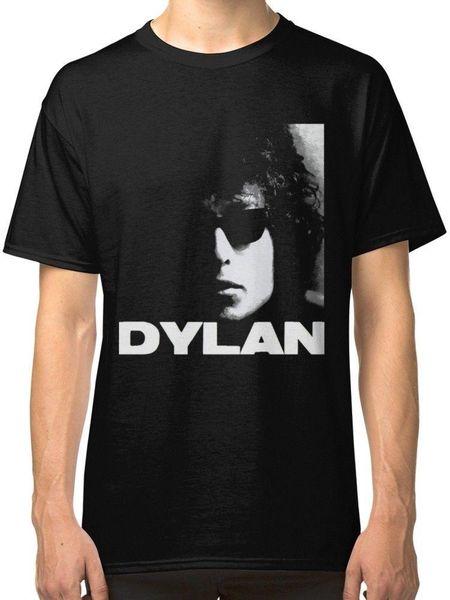Боб Дилан черная футболка тройники одежда новая мода мужские с коротким рукавом футболка хлопок футболки новинка прохладный топы мужчины с коротким рукавом футболка