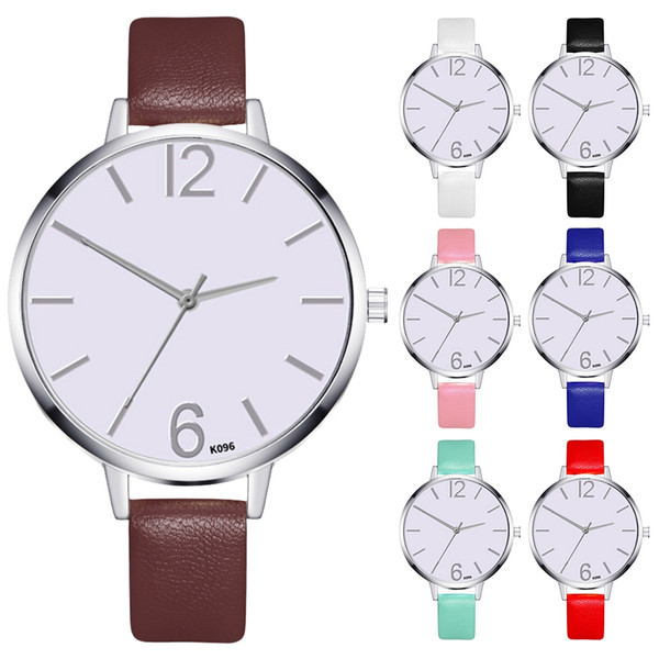 Brand for Zhoulianfa Watch Korean Style Simple Creative Fashion Leather Women Ladies Business Watch