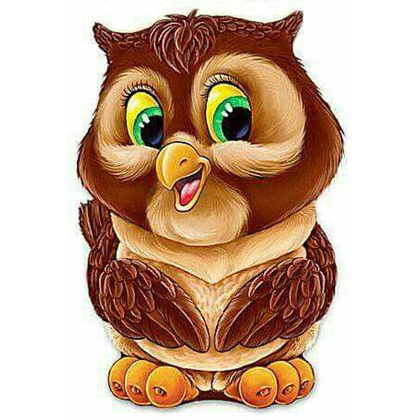 Cartoon, cute owl 5D Diy diamond painting, cross stitch Diy diamond embroidery home decoration rhinestone painting mosaic gift