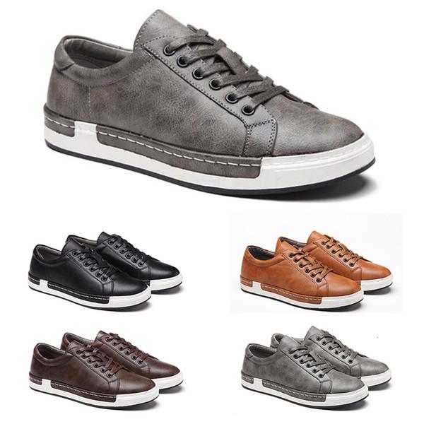 Nueva manera de la plataforma de los zapatos ocasionales de triple combinación blancos zapatos de la zapatilla de deporte para hombre del diseñador skate zapatillas de deporte tamaño 40-46 main15