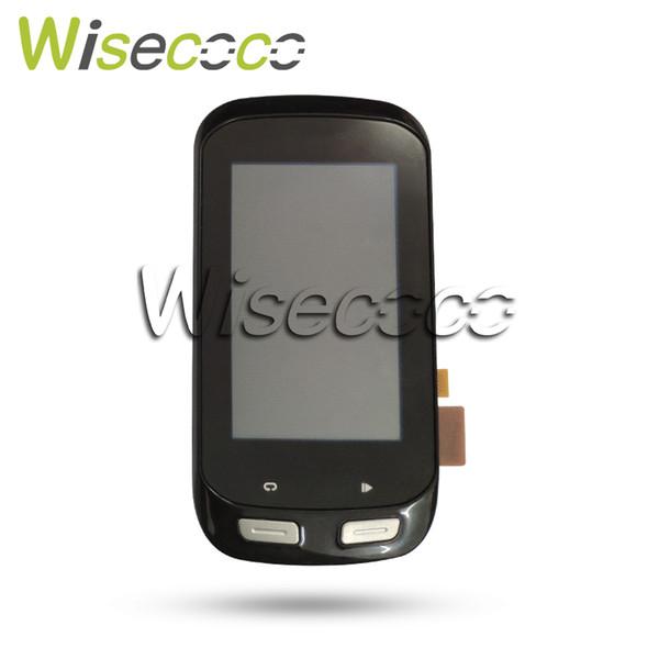 Original lcd para garthin borda 1000 display lcd touch screen digitador substituição de vidro com quadro de bicicleta gps