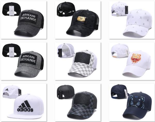 newest 29db6 30f1d Sombreros de béisbol A   X de calidad superior para hombre Sombrero para el  sol Hueso