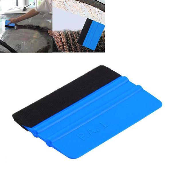 Бесплатная доставка автомобилей виниловая пленка обертывания инструменты 3 м ракель с войлоком мягкие обои скребок мобильный протектор экрана установить ракель инструмент