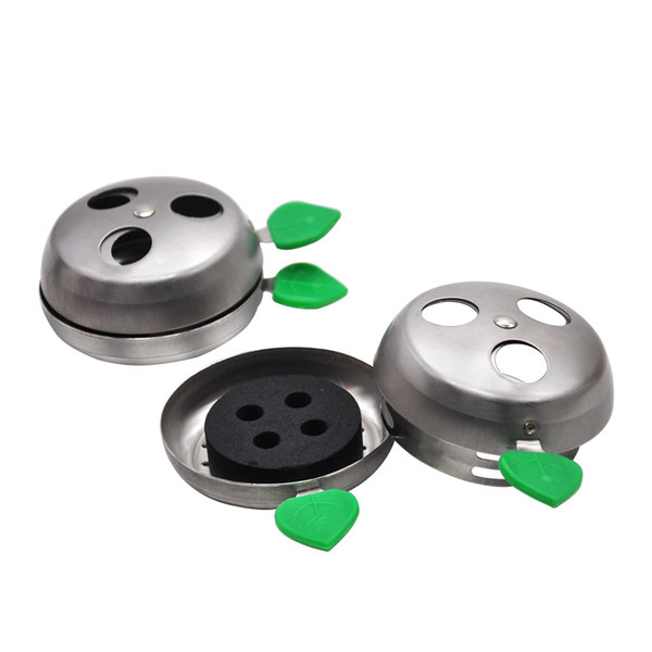 Charcoal Holder Hot Sale High Quality Hookah Bowl Two Hand Charcoal Holder Charcoal Stove Burner Free Shipping