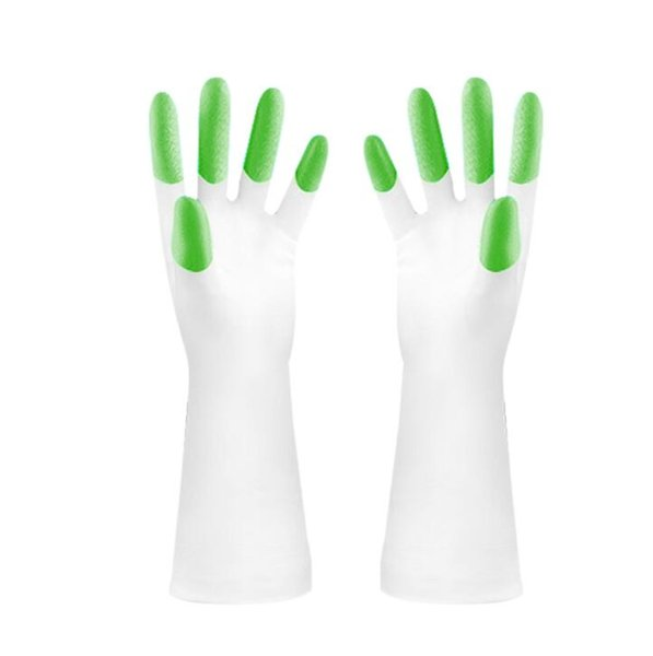 Cleaning gloves Latex Summer Gloves Dishwashing Laundry Cleaning pvc Thickening Shark Hyun Finger Rubber Housework Kitchen Gloves