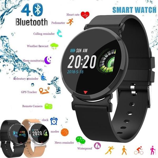 Best Heart Rate Monitor Watch 2020.Popular Fashion Smart Watch Men Fitness Tracker Hd Ips Screen Smart Wristband Heart Rate Monitor Waterproof Smart Bracelet For Android Ios Smart Watch