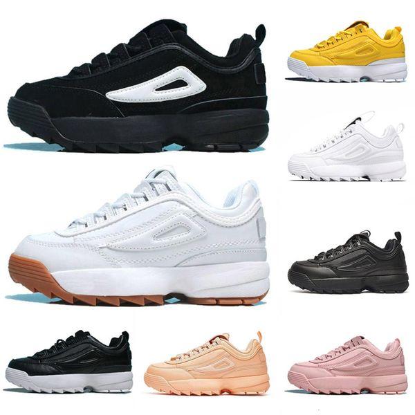 Originais desreguladores II 2 Triplo Branco Preto Cinzento Rosa Mulheres Homens Especial Seção Sports Sneaker Aumento corrida Casual Shoes Eur 36-44