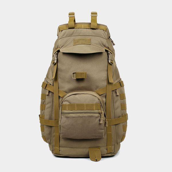 50L Al aire libre Mochila massenger Impermeable de gran capacidad Lugge Tactical Assault Pack para viajar Senderismo Caza Camping