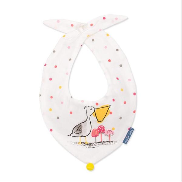 Piña Niños Niñas Baberos Suave Bebé Delantal De Alimentación Lindo Lazo Burp Cloths Recién Nacido Bandana Niños Bebe Accesorios de Ropa Baberos Envío Gratis