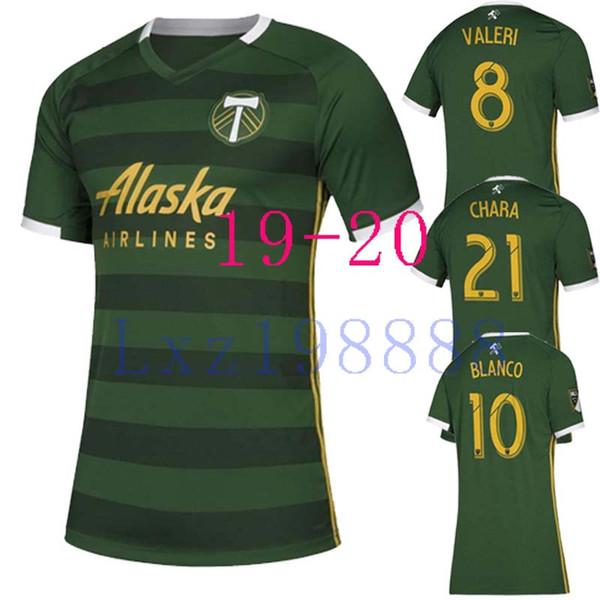 NOVITÀ 2019 2020 MLS Uomo Portland Timbers maglie calcio nazionale 19 20 BLANCO CHARA VALENTIN maglia VALERI MEN Calcio jersey Camicie