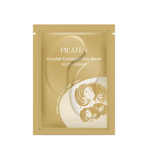 best selling Pilaten Crystal Collagen Eye Mask Anti-puffiness, Dark circle, moisture Eyes mask 7g DHL Free