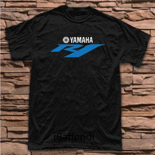 New Yamaha R1 YZF Motorcycle Racing T-shirt T Shirt Cotton Men Short Sleeve Tee Shirts Novelty Cool Tops Men Short Sleeve T-Shirt