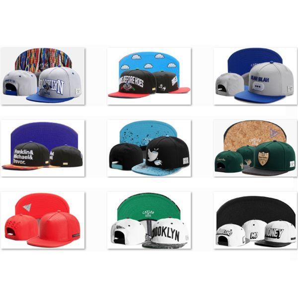 2019 New style CAYLER & SONS Snapbacks Baseball Caps Best Mens Dome Ball Cap Adult Cotton Dad Cap Fashion Brand Designers Hats CS44