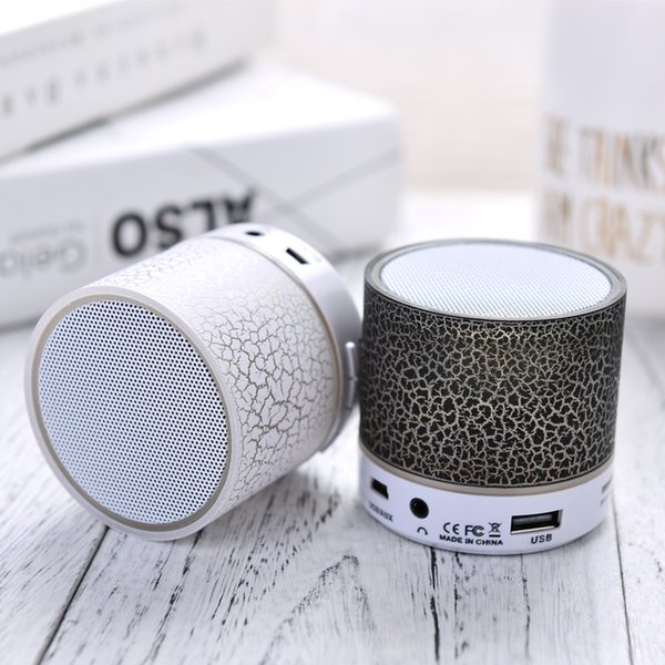 2019 Mini Portable Bluetooth Speaker With TF USB Music Player For iPhone Samung Outdoor Sport Column Speaker Gift Computer Box Free ship