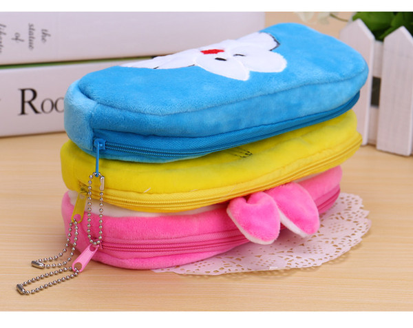 Cactus Plush school Pencil case Cute fruit watermelon Cosmetic bag pen box for girls gift Stationery pouch office supplies