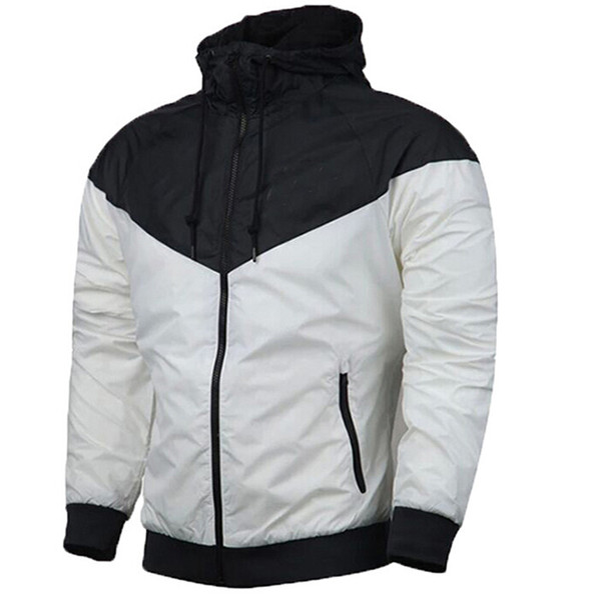 2019 Fashion New Men Women Jacket Spring Autumn Fall Casual Sports Wear Clothing Windbreaker Hooded Zipper Up Coats wholesale