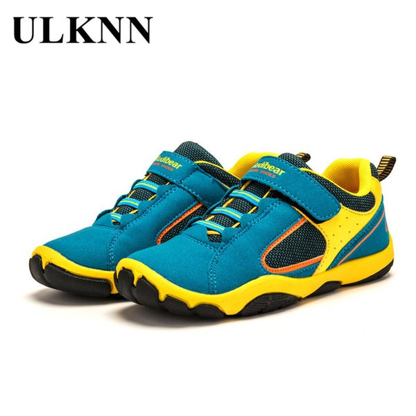 2018 Hot Sale Boys Girls Sports Shoes Skid Resistance Rubber Sole Kids Walking Shoes Spring Autumn Children's Fashion Sneakers MX190727