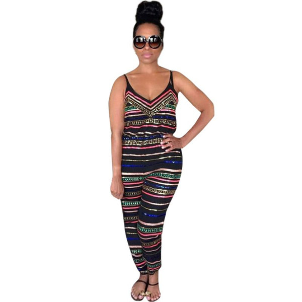New Summer Sexy Women Party Jumpsuit Backless Playsuit Bodycon Romper Trousers Clubwear Plus Size S-XXXL